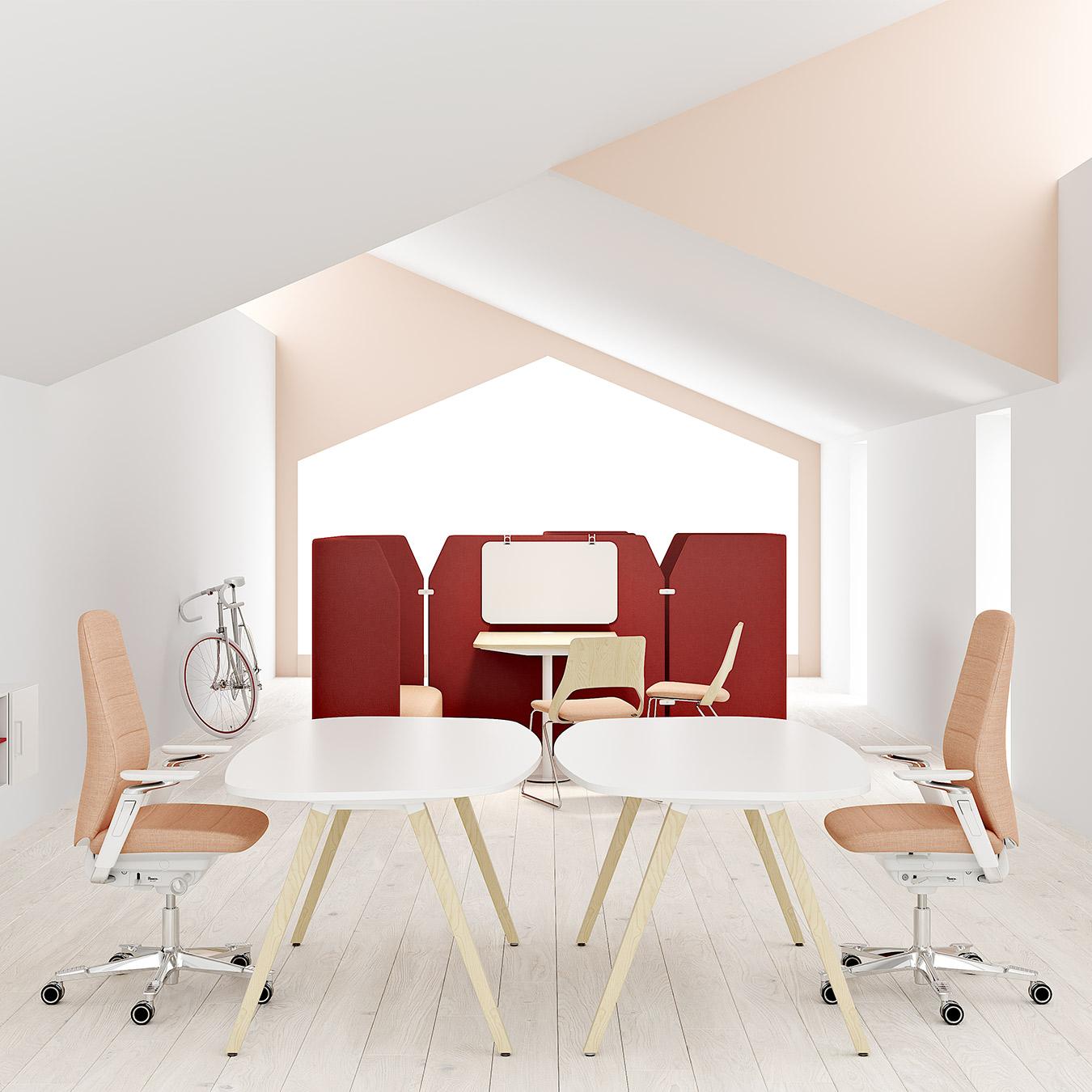 Picture of: Oberon Skriveborde Skriveborde Produkter Mobler Til Kontor Skole Og Pleje Kinnarps